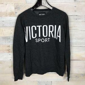 Victoria Secret Sport Gray Pullover Sweater Small